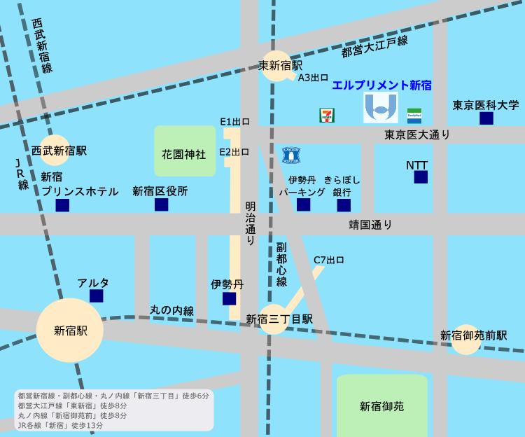 株式会社アンアース&ソリューションズ-MAP-エルプリメント新宿